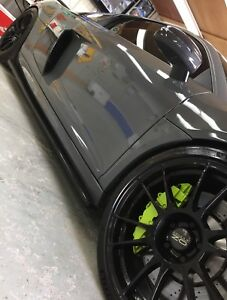 Audi R8 APR Carbon Fibre skirt extensions