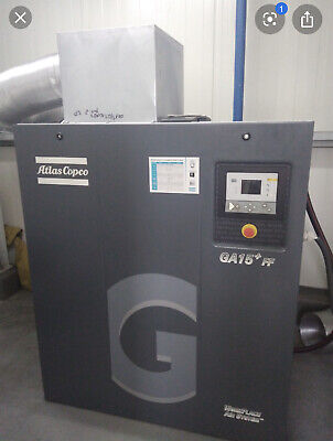 20hp Ga15ff Atlas Copco Rotary Screw Air Compressor