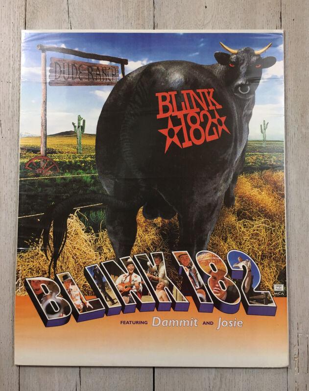 Vintage Blink 182 1997 Dude Ranch 16x20 Promo Poster