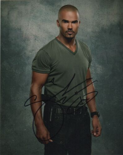 Shemar Moore SWAT Criminal Minds Autographed Signed 8x10 Photo COA MR082