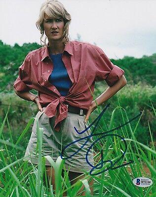 Laura Dern Signed 8X10 Photo Jurassic Park Beckett Bas Autograph Auto A