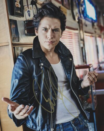 Cole Sprouse Riverdale Autographed Signed 8x10 Photo COA 2019-2