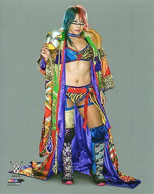 "WWE PHOTO ASUKA OFFICIAL STUDIO WRESTLING 8x10"" PROMO BRAND NEW"