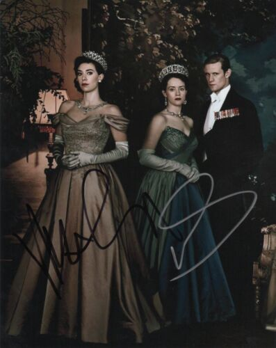 Matt Smith Vanessa Kirby Claire Foy The Crown Autographed Signed 8x10 Photo COA