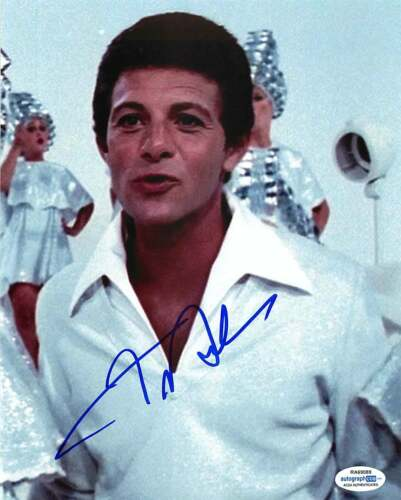 *Teen Angel* Frankie Avalon Signed Autographed 'Grease' 8x10 Photo ACOA C
