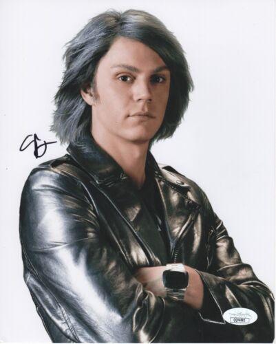 Evan Peters Xmen Wandavision Pietro Autographed Signed 8x10 Photo COA  JSA