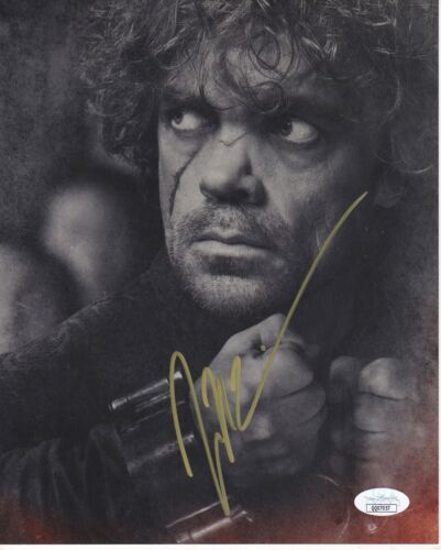 Peter Dinklage Game of Thrones Autographed Signed 8x10 Photo JSA COA