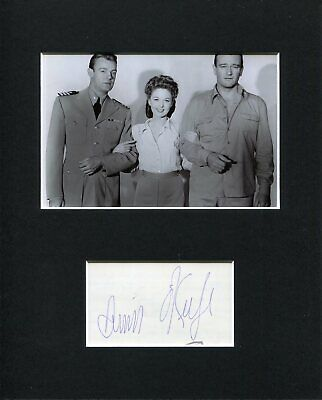 Dennis O'Keefe The Fighting Seabees Signed Autograph Photo