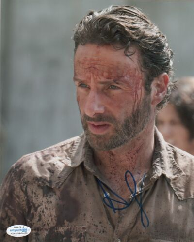 Andrew Lincoln Walking Dead Autographed Signed 8x10 Photo ACOA #8