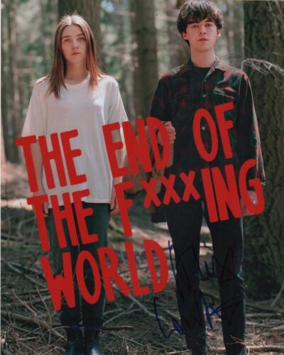 Alex Lawther It's the End of the World Autographed Signed 8x10 Photo COA E9