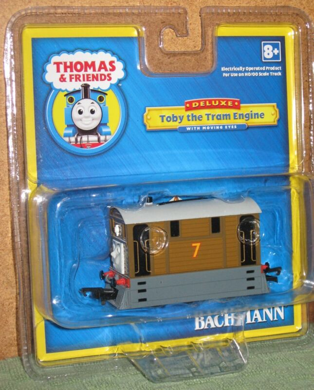 Bachmann 58747 - Thomas Train & Friends - HO Scale Toby Tram Engine Locomotive