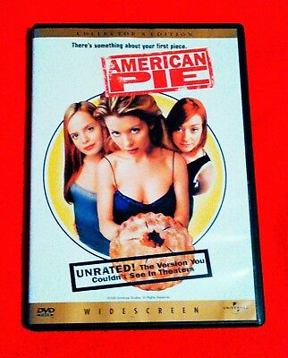 American Pie  Dvd  1999  Unrated Version   Collectors Edition
