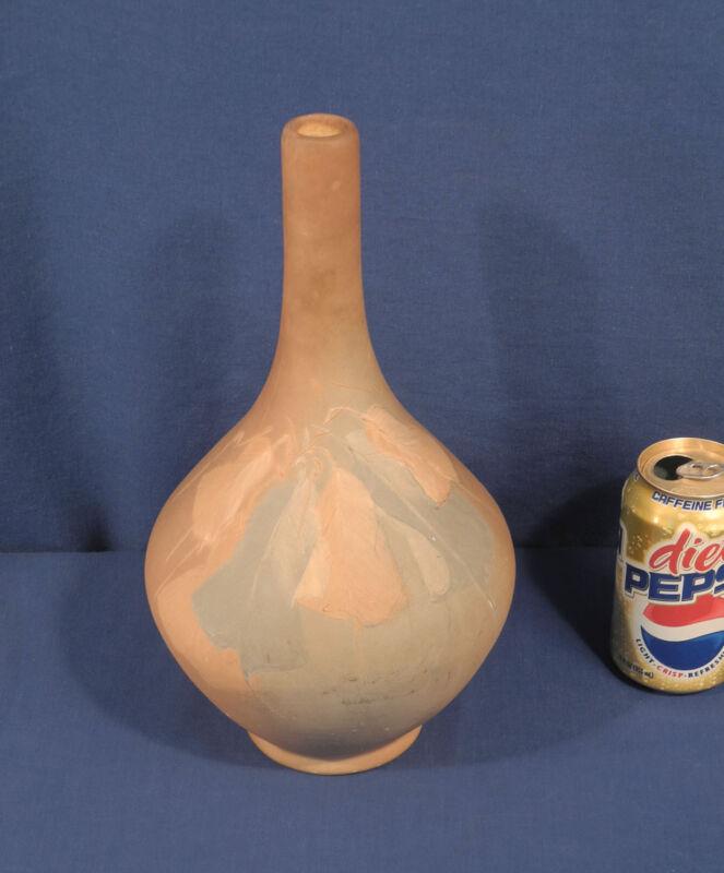 Vintage Antique Owens Arts + Crafts Art Pottery Vase Utopian Matte Southwestern