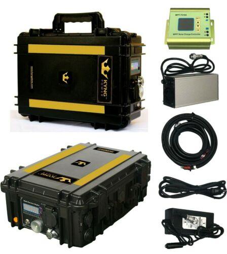 KYNG 2000Wh Solar Generator KIT Portable Power Station Back-Up Power Supply RV