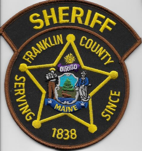 Franklin County Sheriff State Maine ME Colorful
