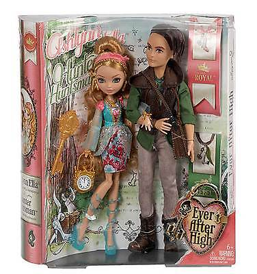 Mattel Ever After High Ashlynn Ella And Hunter Huntsman Brand NEW In Hand