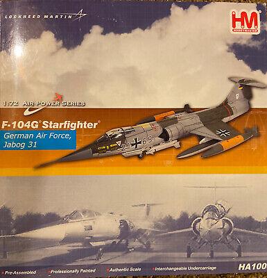 Hobby Master 1:72 Air Power Series HA1008 F-104G Starfighter German AF Jabog 31