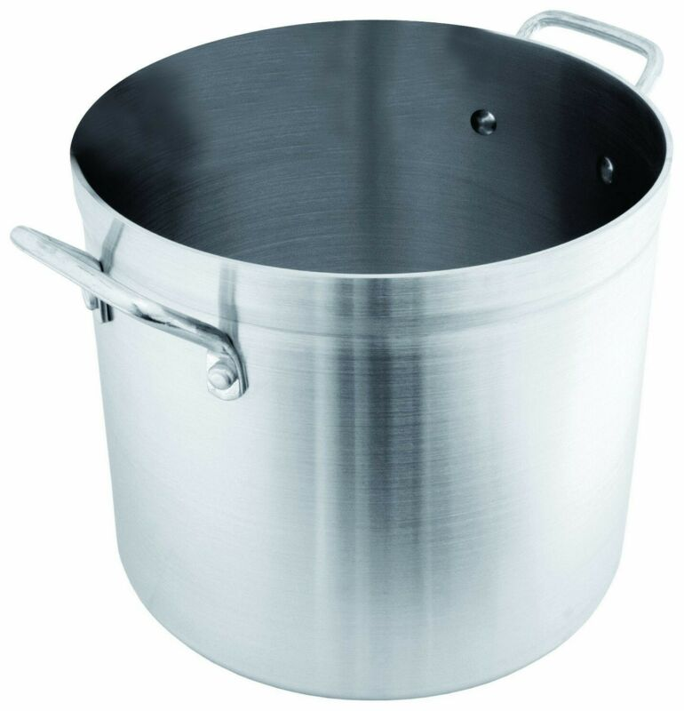 Crestware 120-Quart Aluminum Stock Pot FREE SHIPPING