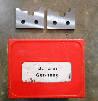 Spindle Moulder Cutters Profile Knives German Qty-2 Gar Gr-6