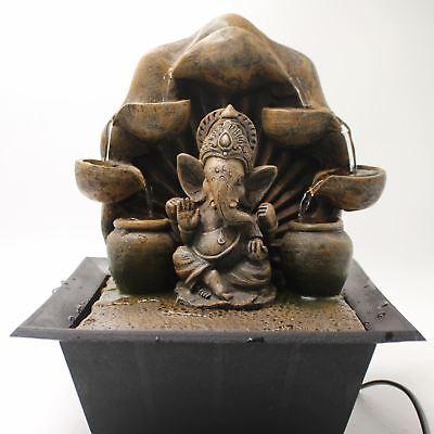 Ganesh Waterfall Fountain  Indoor Home Decor Item