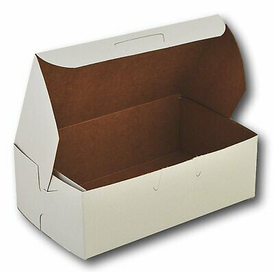 6 14 X 3 34 X 2 18 Paperboard White Bakery Eclair Box Pack Of 30