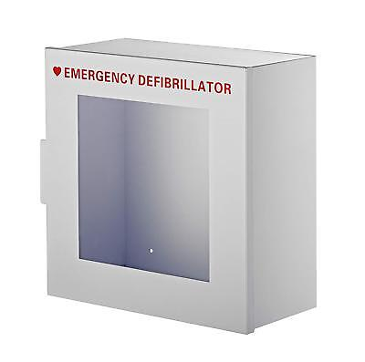 Adirmed Nonalarmed Steel Cabinet Defibrillators Emergency Wall Mounted Enclosure