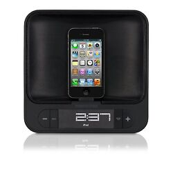 Memorex MA4525 FM Clock Radio for iPod and iPhone with Dual Charging Alarm
