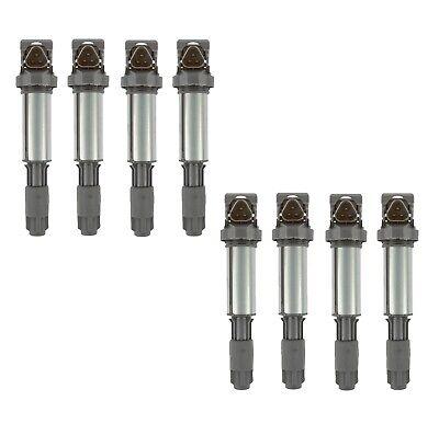 Set of 8 Delphi Direct Ignition Coils for BMW E60 F07 F10 E63 E65 550i 650i 750i