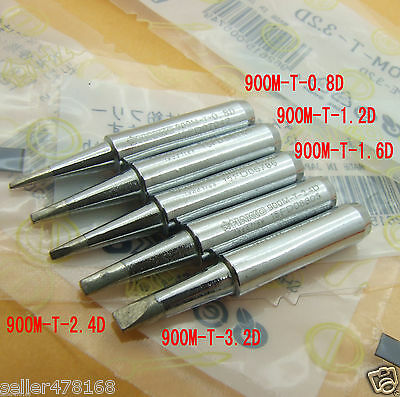 5pcs Soldering Tip Iron Tip 900m-t Tips For Hakko936937928 Soldering Station