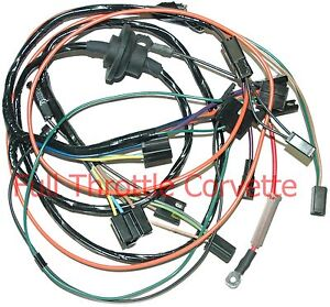 1972 1973 corvette air conditioning ac wiring harness