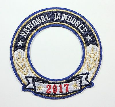2017 National Boy Scout Jamboree Official World Crest Ring Patch