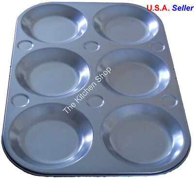 Muffin Top Pan 6 Cup Topper Pan Non Stick Bakeware Baking Muffin Tops New