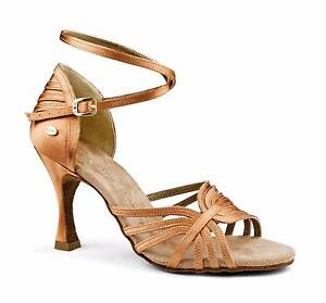 Tan Satin Dance Heels - NEW Bedford Bayswater Area Preview
