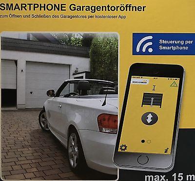 Schellenberg Smartphone Garagentorantrieb  Handsender Garagentoröffner