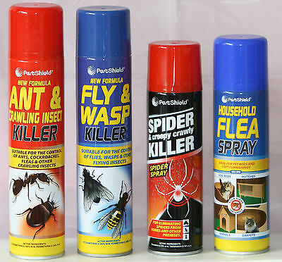 New Pest Control KILLER SPRAY Ant Insect Fly WASP Spider Flea Crawly Bed Bugs