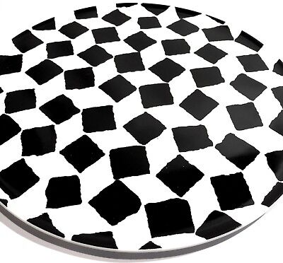 PAOLA NAVONE LIMITED EDITION PORCELAIN ABSTRACT MODERNIST PLATE JIA INC