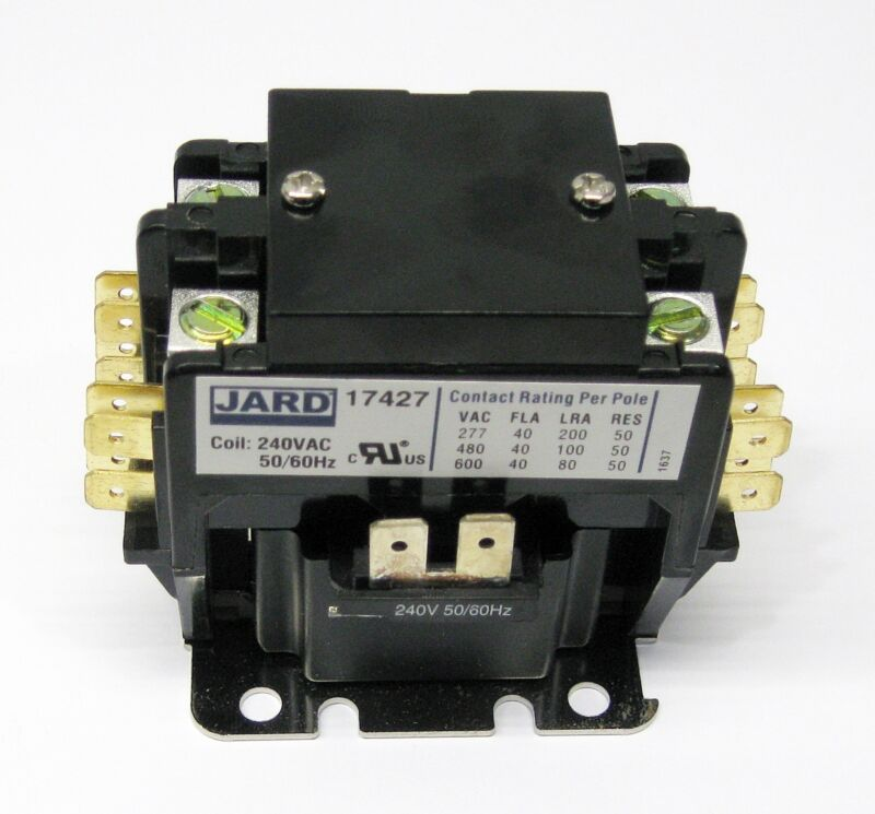PC240C Contactor Double Two Pole 40 Amps 240 Volts for Air Conditioner