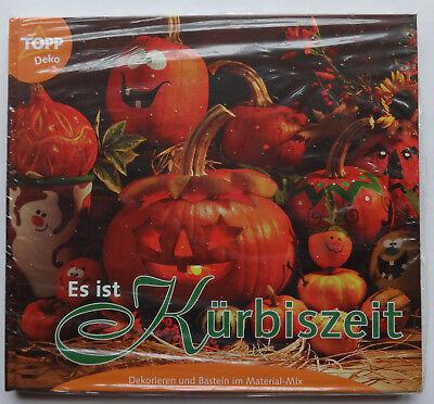 OPP 3009 Kürbis Bastelbuch Fensterbilder Halloween Deko ua (Musik Halloween-kürbis)