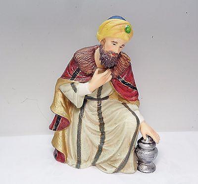 Member's Mark Nativity Set Grandeur Noel 1999 Wiseman or King holding Jar