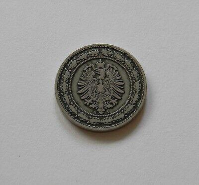 KAISERREICH: 20 Pfennig 1888 A, J. 6, schön, I.