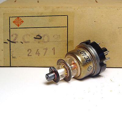 Sende-Röhre / Senderöhre Telefunken 2C40 Planar Triode, GHz Amplifier Tube