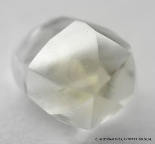 I VS1 0.56 CARAT BILLION YEARS OLD RECENTLY MINED NATURAL GEM DIAMOND MACKLE