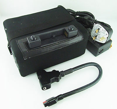 LITHIUM-ION  27 HOLE GOLF TROLLEY 12V 16AH BATTERY FITS POWAKADDY W/T T - BAR