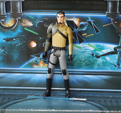 STAR WARS FIGURE 2015 REBELS ANIMATED KANAN JARRUS JEDI