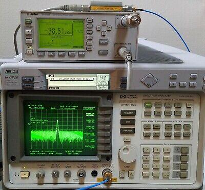 Hp 8563a Opt 026 - Fresh Aligncalibration - 26.5ghz Spectrum Analyzer - Agilent