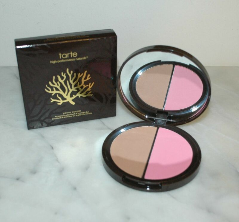 Tarte Amazonian Clay Blush & Bronzer Duo Power Couple Dollface Park Ave Princess