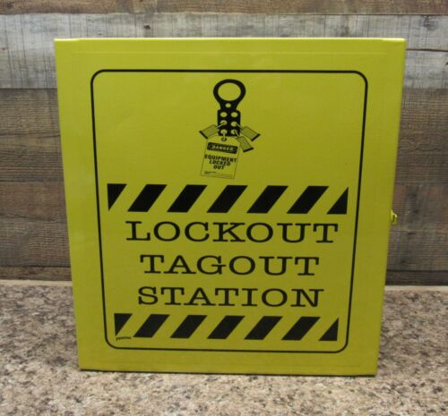 Brady LC251M Lockout/Tagout Industrial Strength Station Brand New