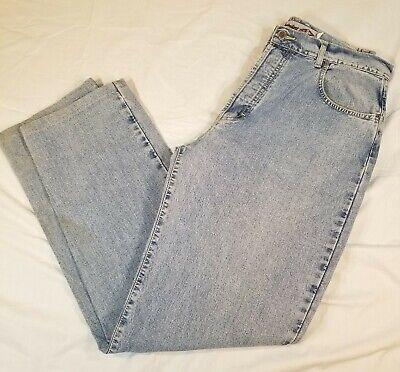 QUICKSILVER Salt Water Denim QSD Light Wash Blue Jeans Men's 36 32 Button Fly