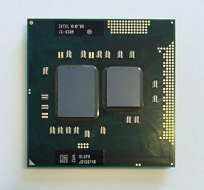Intel Core i5-430M CPU 2.26 GHz 3M Cache Mobile Processor SLBPN K000092470 Cache-mobile