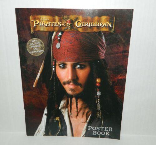 Disney PIRATES of the CARIBBEAN Postcard POSTER BOOK* New OOP 2007 Johnny Depp